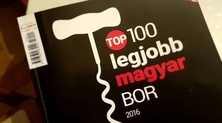 Ákos Cuvée 2011 a TOP 100 legjobb magyar borok között!