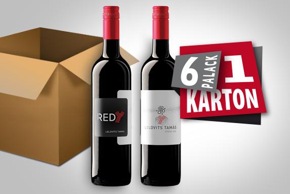 1 karton Új RedY (6 palack) 2019