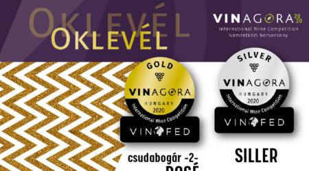 VINAGORA siker a borversenyen